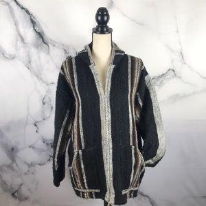QUILLACRAFTS Peruvian Alpaca hoodie / jacket